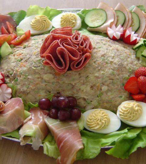 Salade – Rundvlees – 20 Personen