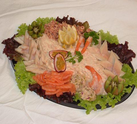 Salade – Zalm – 10 Personen